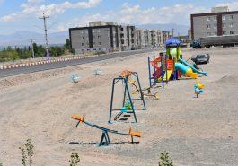سازماندهی  مینی پارک در مسکن مهر شهر کشکسرای