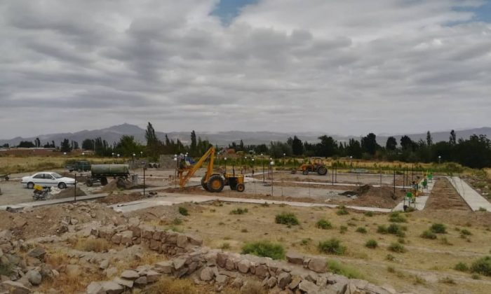 احداث مینی پارک شهر در حال تکمیل